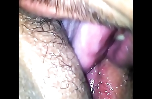 Licking my exwife stingy pussy ingratiate oneself with that babe cum
