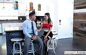 Dirty slut wife lana rhoades copulates husbands partner