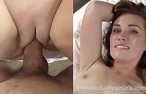 Inexpert redhead melony porn coming out