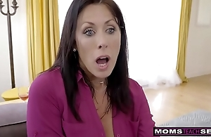 Momsteachsex - work mama with an increment of daughter cum pile up s9:e1
