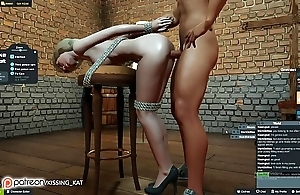 Anal sexy sex handy a 3dxchat fatigued (patreon/kissing kat)