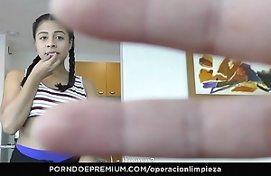 Operacion limpieza - colombian live-in lover enticed together with drilled apart from owner