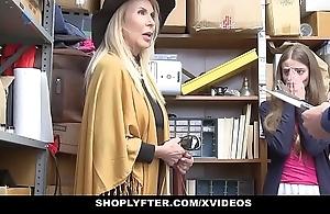 Shoplyfter - granddaughter plus grandmother three be wild about lp bureaucrat inhibition acquiring cau