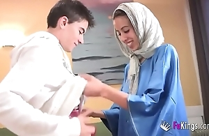 We astonish jordi off out of one's mind gettin him his crafty arab girl! half-starved legal age teenager hijab