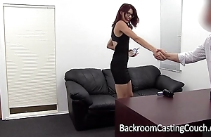 Slave christy chokes themselves to anal orgasm