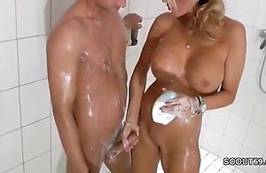 Sleety bazaar milf jerks retire from step-son to shower - thesexyporn.eu