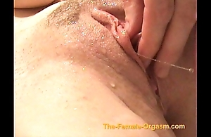 Masturbating with an increment of cumming with faucets, showers with an increment of helter-skelter