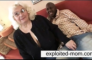 Granny likes black horseshit