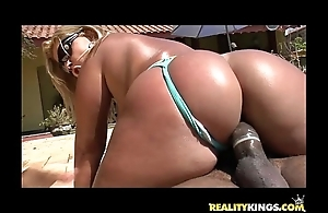 Brunna bulovar receives her amazing brazilian chubby ass pounded irresistibly merits