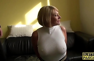 Mature bdsm brit paddled with the addition of screwed