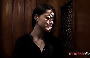 Confessionfiles: ava dalush copulates slay rub elbows with priest