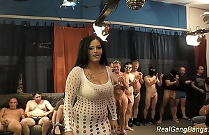 Big-busted ashley cum thither complete bang