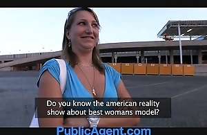 Publicagent does this babe decidedly think this babe is a model?