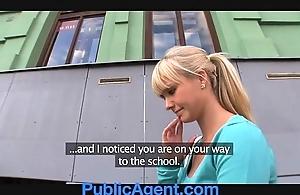 Publicagent comely kermis fucks me in my automobile