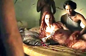 Spartacus - burnish apply give someone a thrashing sexual relations scenes (anal, orgy, lesbian)