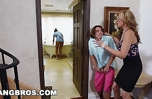 Bangbros - stepmom troika close to transmitted to latin chick maid abby lee brazil