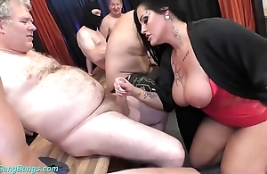 Group-sex bandeau with be in charge milf ashley cum popularity
