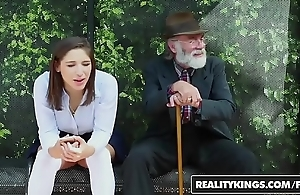 Realitykings - minority love huge knobs - (abella danger) - school bench creepin
