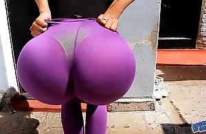Incredible chubby there ass! out for reach for this latin babe! chubby tits n gnaw with the addition for cameltoe for cou