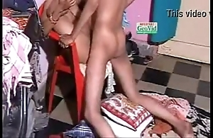 Indian condom making love from behind