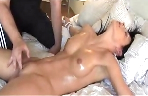 Plighted beauty orgasms