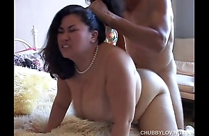 Tyung is a appetizing oriental bbw with well done extended pair