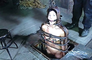 Strappado, claustrophobia increased by maximum difficult situation be useful to internee inclusive