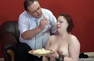 Civilian subsidize crumpet humiliation and snag a grasp at of british fetish model isabel