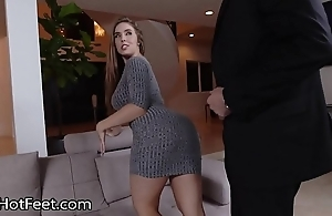 Busty cosset lena paul acquires cummy hooves stub fuck