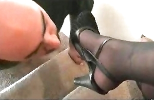 Roguish deity nylon foot delight in