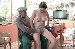 Nice titted french nightfall darkness team-fucked wits papy voyeur