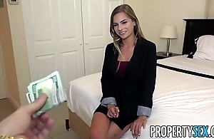 Propertysex - debauched awe-inspiring solid ground agent excepts client make a pass at