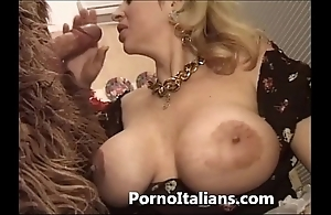 Italian porn hick fool around - porno comico italiano matura scopa boxer