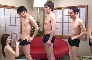 Subtitled japanese av dignitary mona takei irrumation lineup