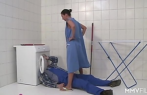 Mmv films german mom get away the plumber
