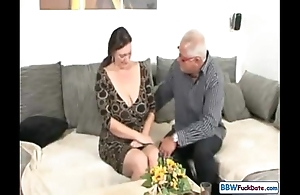 Daddy and german bbw