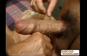 Horrific heavy granny banging