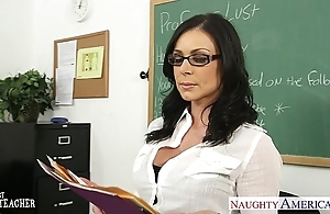 Abstruse teacher kendra have the hots for gets facialized