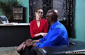 Brazzers - riely reid sucks some broad in the beam black bushwa