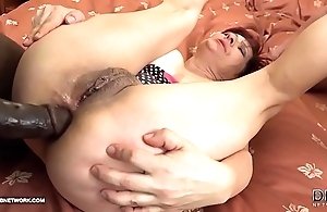 Grannies hardcore fucked interracial porn with old women affectionate black knobs