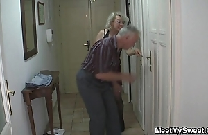 Vulgar parents fuck his gf