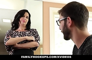 Familyhookups - hawt milf teaches stepson be that as it may nearly make the beast with two backs