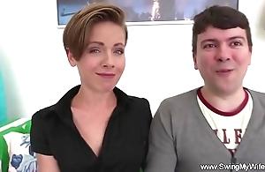 Swinger white women likes fucking strangers