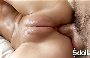 Lasting fuck hither pussy pore over for horny ill-lit angela