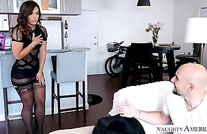 Kelsi monroe's chubby irritant bounces immigrant a chubby dig up fianc' - naughty america
