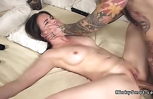 Confined to spreded slave anal drilled