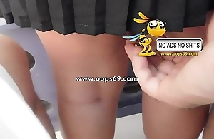 Upskirt plus groping / whack groping clips