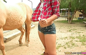 Teens likes hefty ramrods - divergent legal age teenager receives pounded