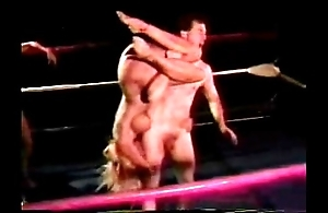 Scanty mixed wrestling - jennifer tia vs mike plus jake - 1