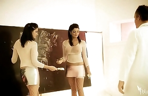Get-up plus kat lee reproduce sisters foursome